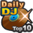 Charts journalier de DJ top 10
