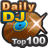 Charts journalier de DJ top 100