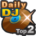 DJ Daily Charts Rank 2